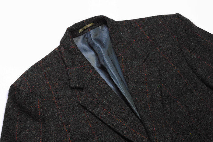Vintage Harris Tweed x Saint John Top Line Blazer Medium