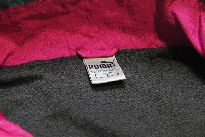 Vintage Puma Anorak Jacket Medium