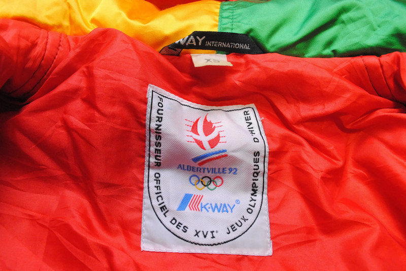 Vintage K-Way Albertville 1992 Olympic Games Jacket XSmall / Small