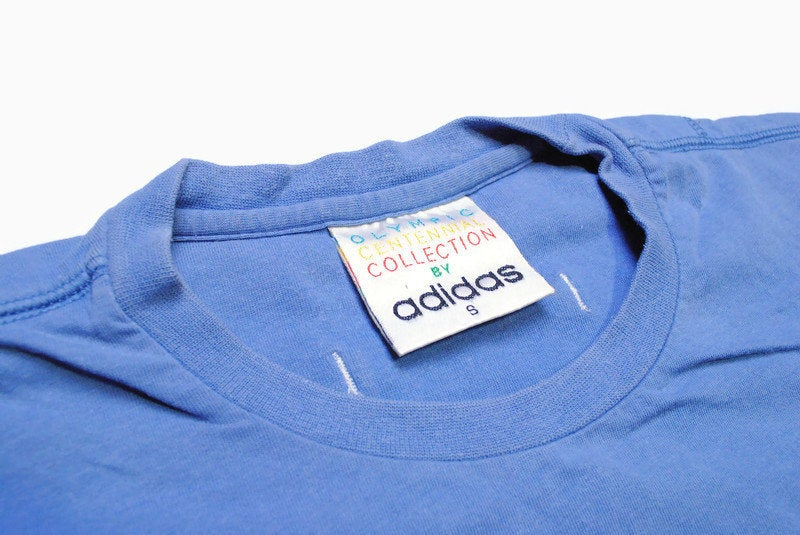 Vintage Adidas Olympic Centennial Collection T-Shirt Small / Medium