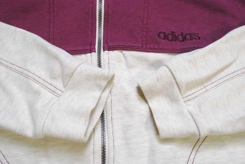 Vintage Adidas Zip Sweatshirt Medium / Large