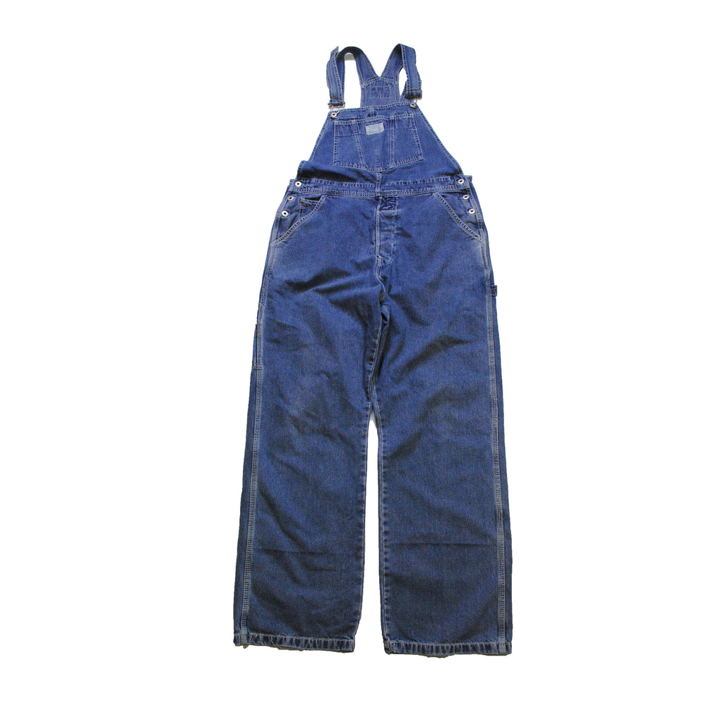 vintage LEVIS JEAN Coverall authentic men's Blue Jean Pants Overall Size xl retro classic work wear 1990s 1980s denim old school USA style
