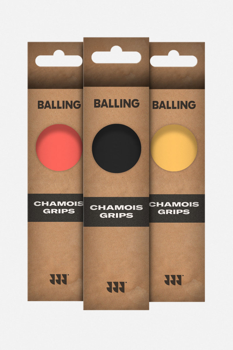 Chamois Grip Pack x 3