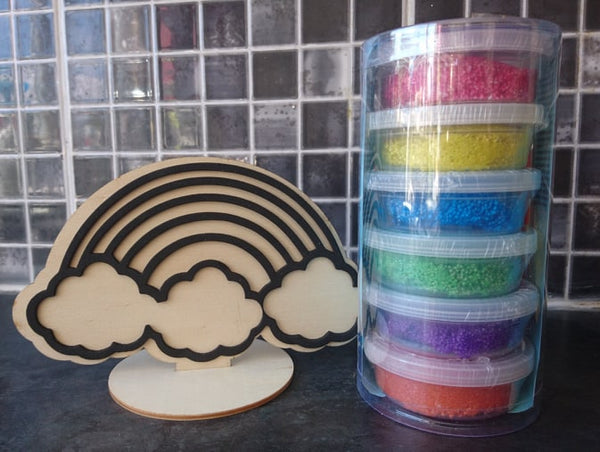 Rainbow Foam Clay Kit