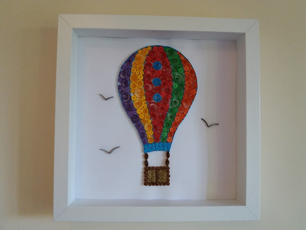 Quilled Pictures - Framed