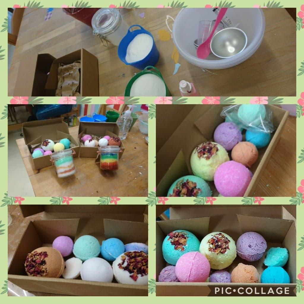 Bath Bomb Workshop 2021