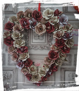 Paper Roses - Heart
