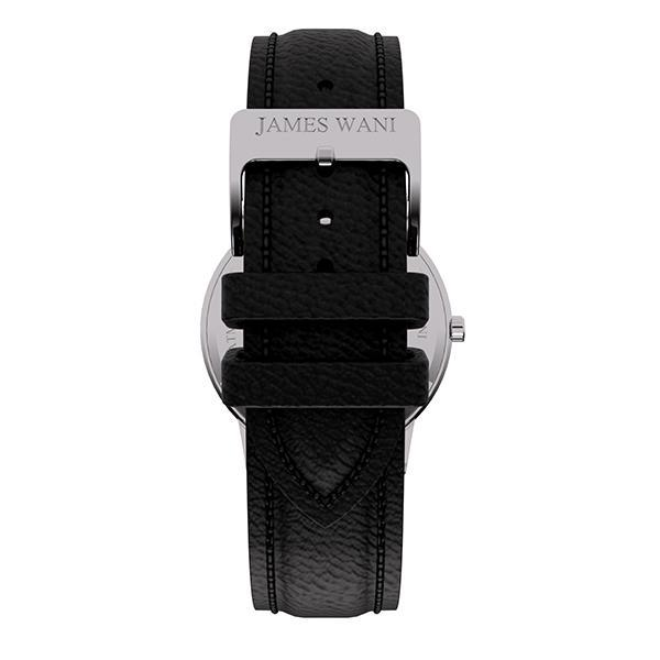 Corfu Leather Strap (Silver) (4457780183099)