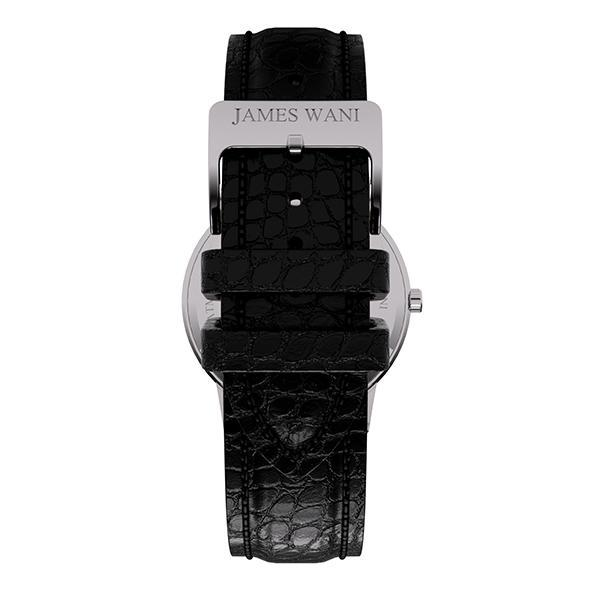 Durban Leather Strap (Silver) (4457912172603)