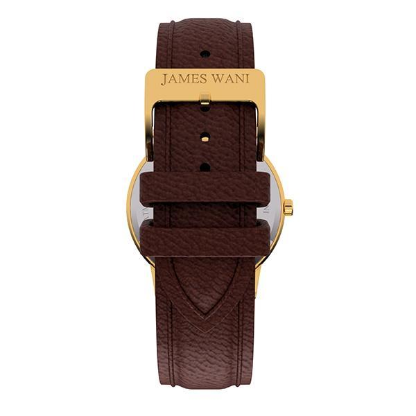 Athens Leather Strap (Gold) (4457822945339)