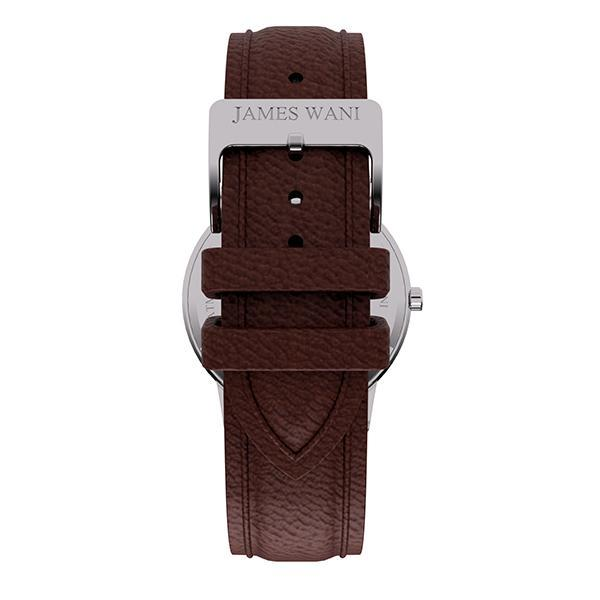 Athens Leather Strap (Silver) (4457832546363)