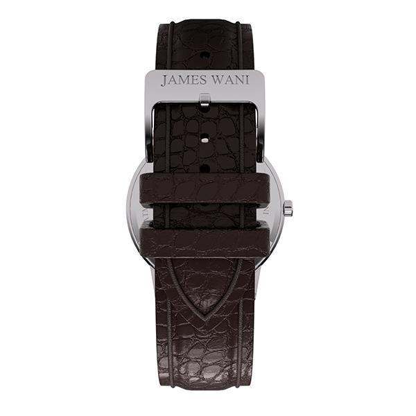 Springs Leather Strap (Silver) (4457876553787)