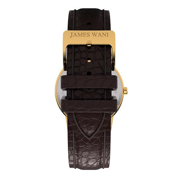 Springs Leather Strap (Gold) (4457854402619)