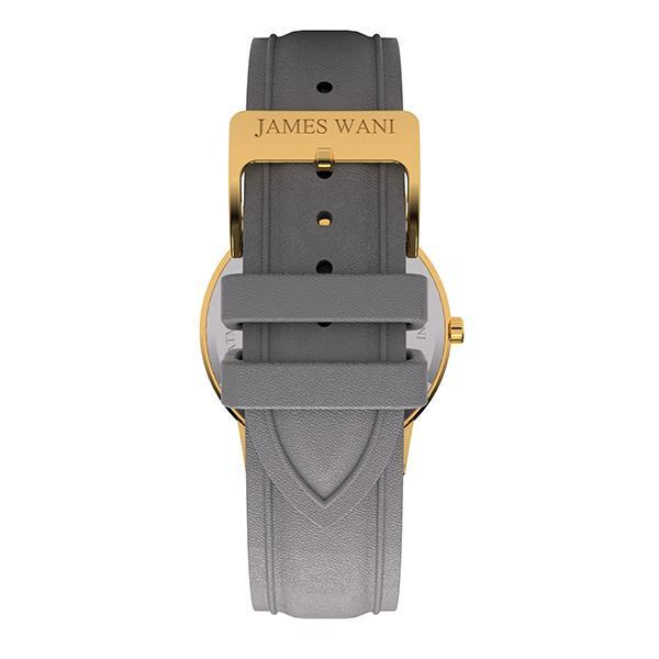 Kos Leather Strap (Gold) (4457694658619)