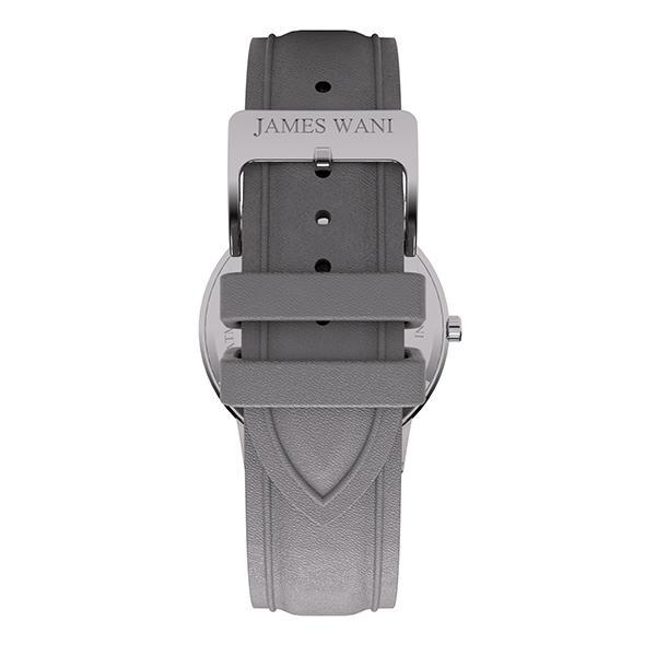Kos Leather Strap (Silver) (4457701736507)