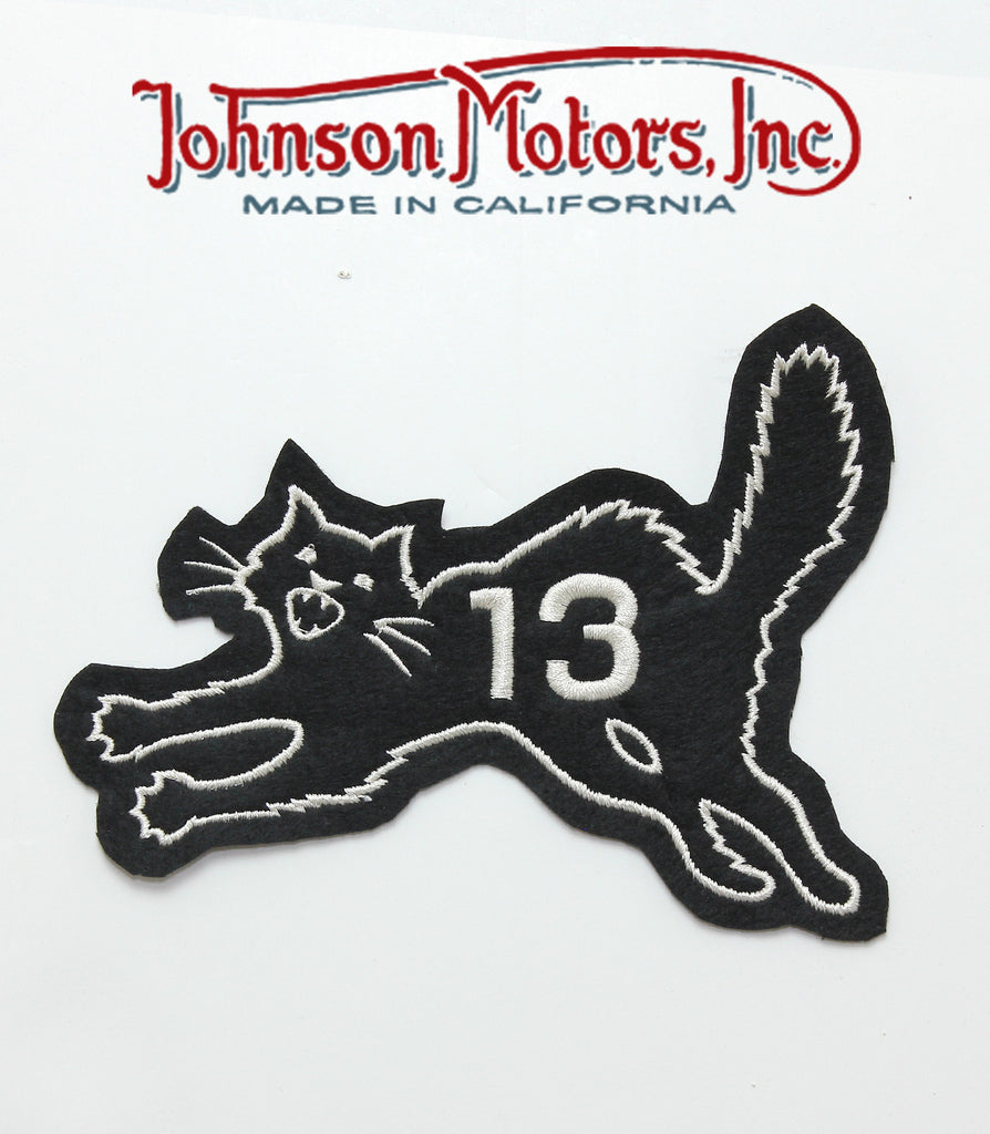 Lucky Black Cat Patch