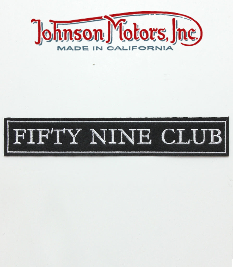 Fifty Nine Club Patch