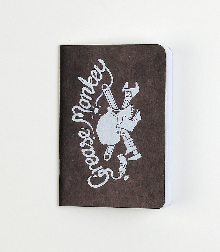 Grease Monkey Notebook
