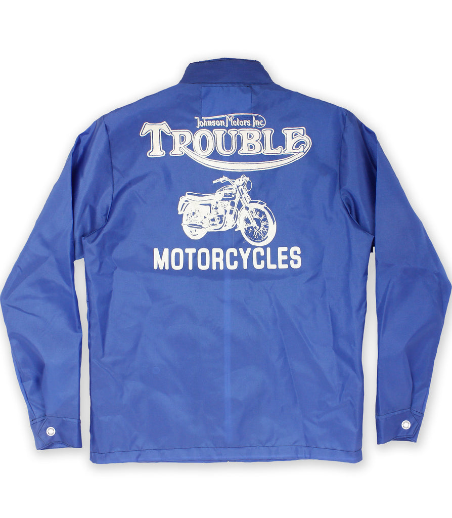 Trouble Motorcycles Wind Cheater