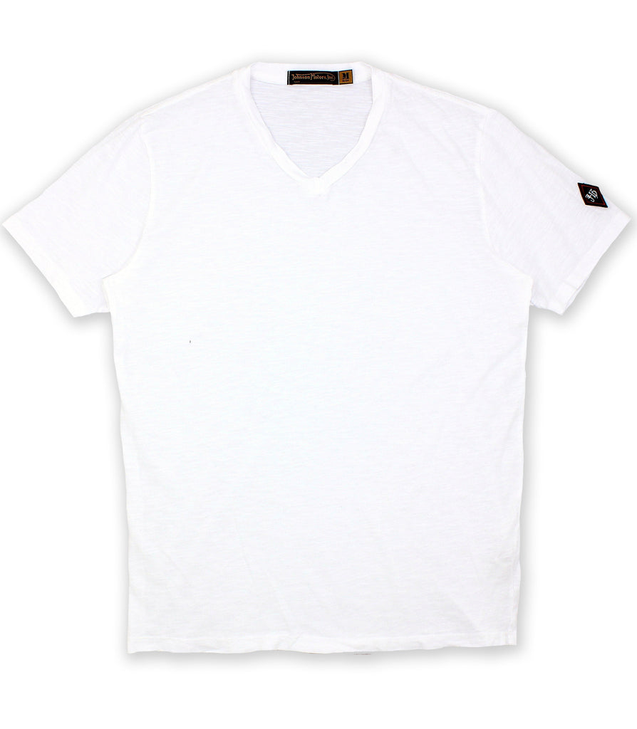 Optic White V-Neck