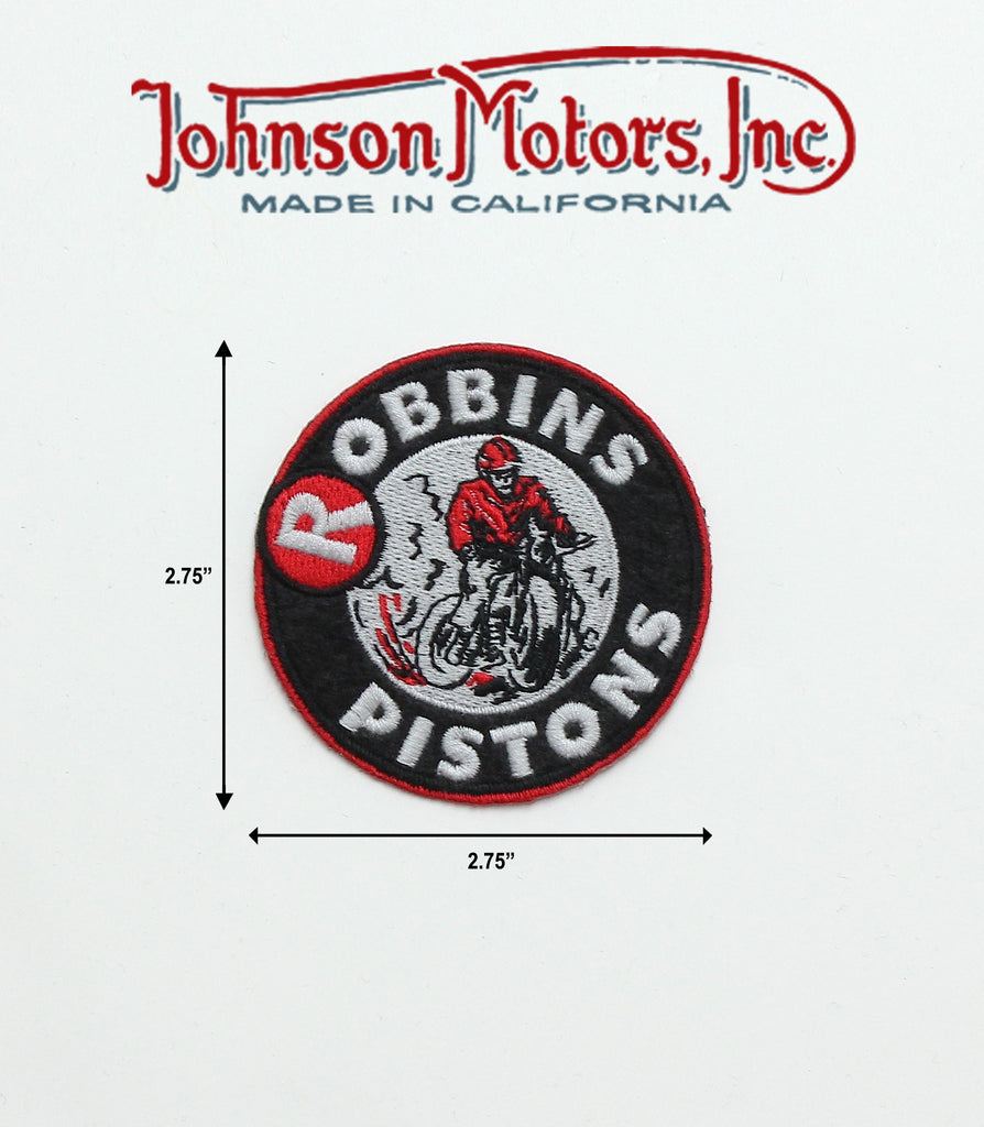 Robbins Pistons Patch