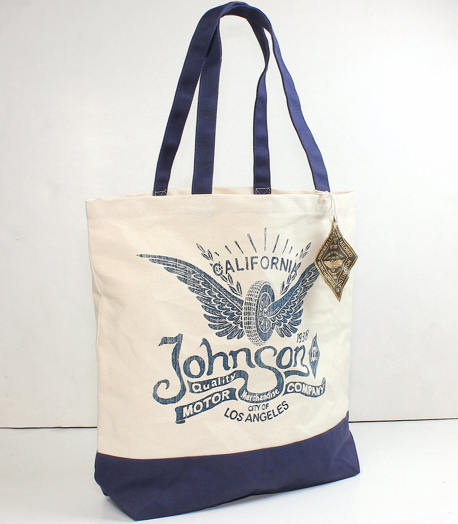 Rising Wheel Tote Bag