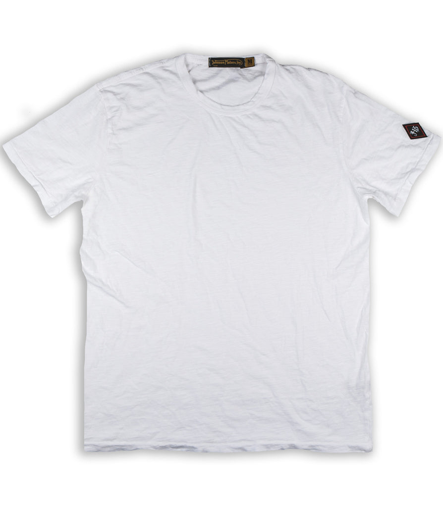 Optic White Crew Neck Tee