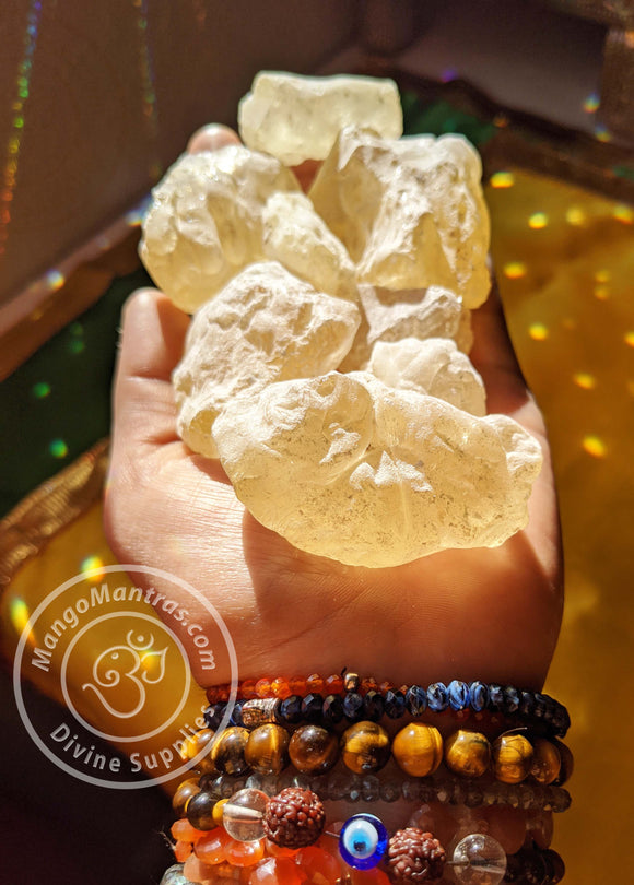 Sahumerio Maya: 100% Pure Mayan/Aztek Copal Resin for Protection, Purification and Cleansing! (Big Pieces)