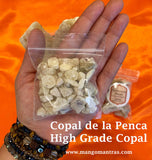 Copal de la Penca: High Grade 100% Pure Organic from Mexico (Small Pieces)