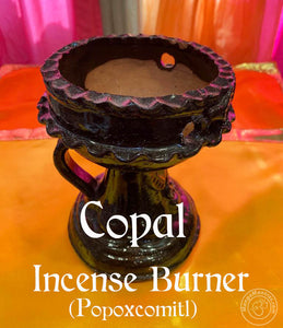 Copal Incense Burner (Popoxcomitl)