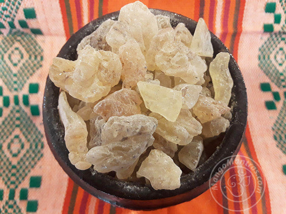 Golden Copal Resin Incense for Protection, Cleansing, and Purifying!