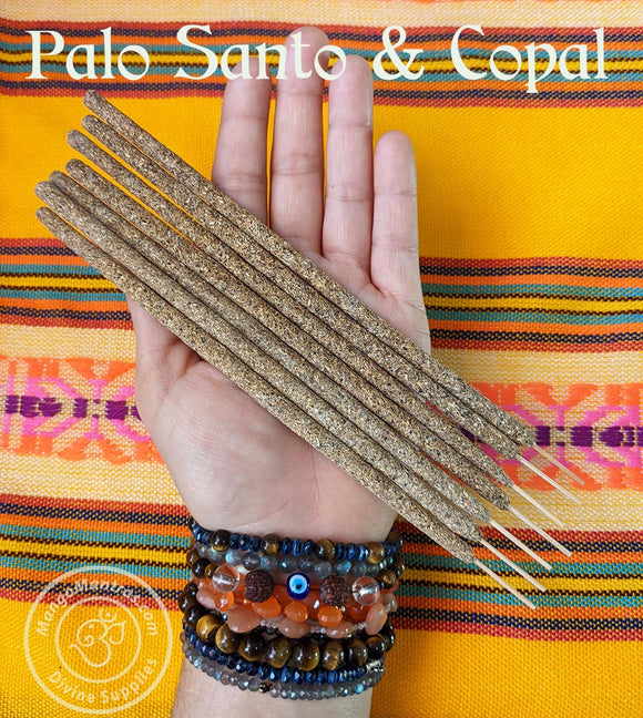 💚100% Pure Sacred Palo Santo & Copal Incense Sticks to Purify, Protect and Bless!💚