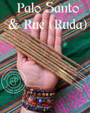🌟Palo Santo & Rue (Ruda) Incense Sticks for Powerful Cleansing, Protection and Purifying!🌟