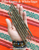 100% Pure Sacred Palo Santo  & White Sage Incense Sticks for Cleansing and Purifying!
