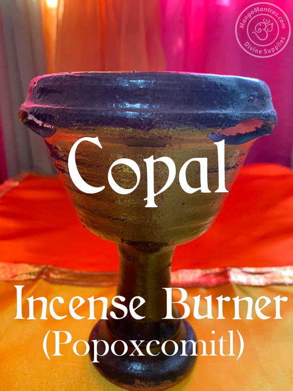 Copal Incense Burner #1  (Popoxcomitl)