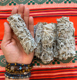 "White Sage 4"" Smudge Wand"