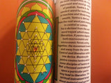 Auspicious Shree Yantra Meditation Candle embellished with Swarovski Crystals