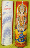 Ganesha Meditation Yoga Mantra Candle