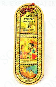 Song Of India - India Temple Incense - 20 Stick Pack