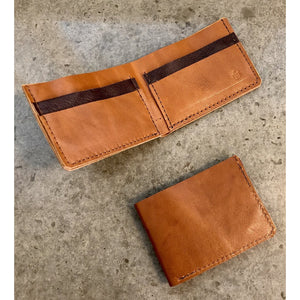 Classic Leather Billfold in brown