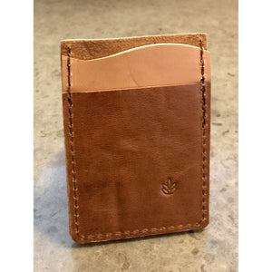 """Just The Essentials"" Leather Card Wallet"