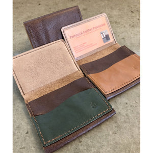 Leather Flip Pouch