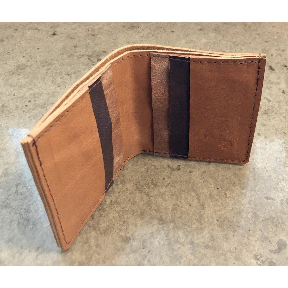 Brown 6 Pocket Leather Billfold