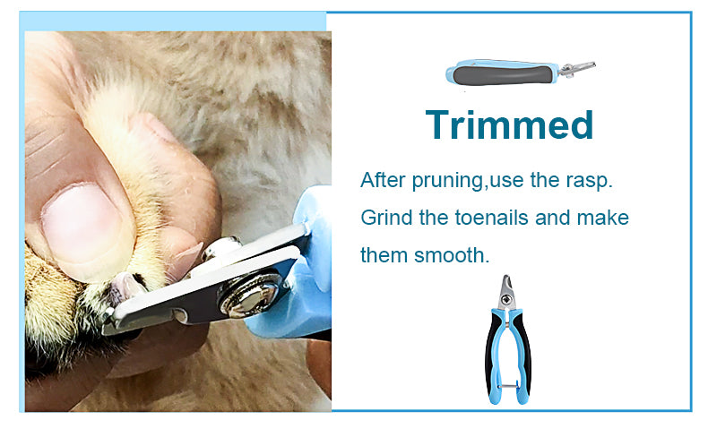 Pet nail clipper for dogs & cats