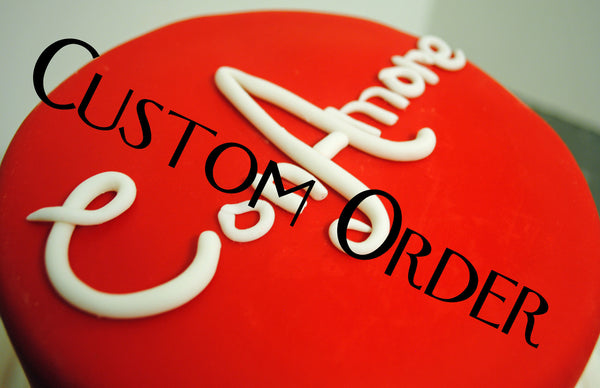 Custom Order for JC