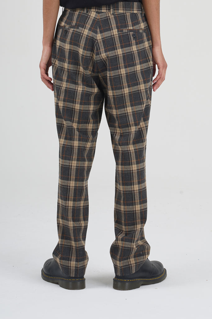 Vintage 90's  Multi Checkered Trousers