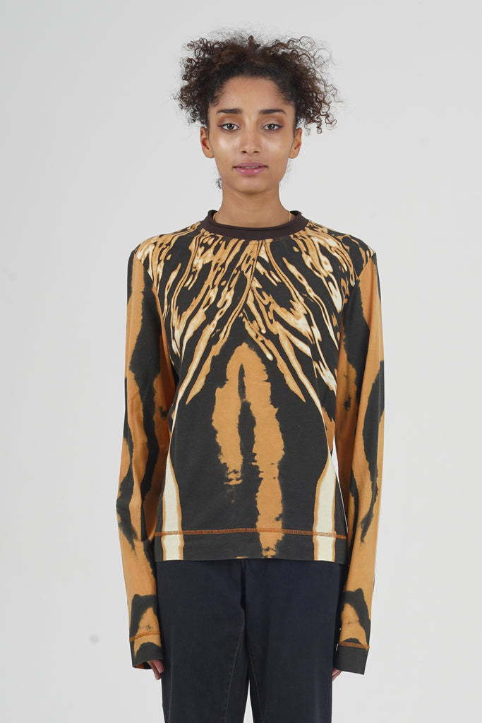 2000 Just Cavalli Oil Slick Long Sleeved T-Shirt