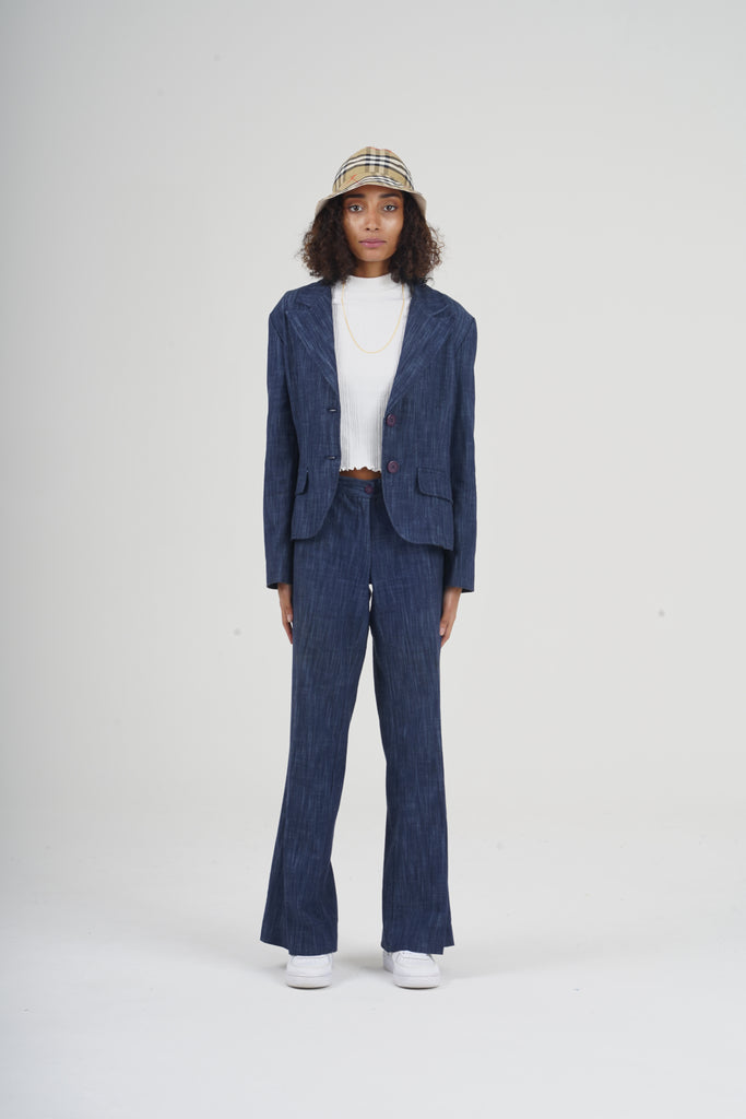 Vintage 90's Co-Ord Denim Suit