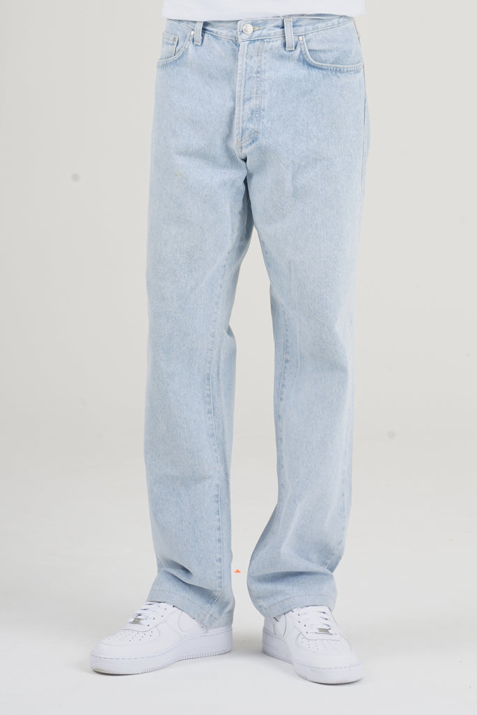 Vintage 90's Versace Light Blue Denim Jeans