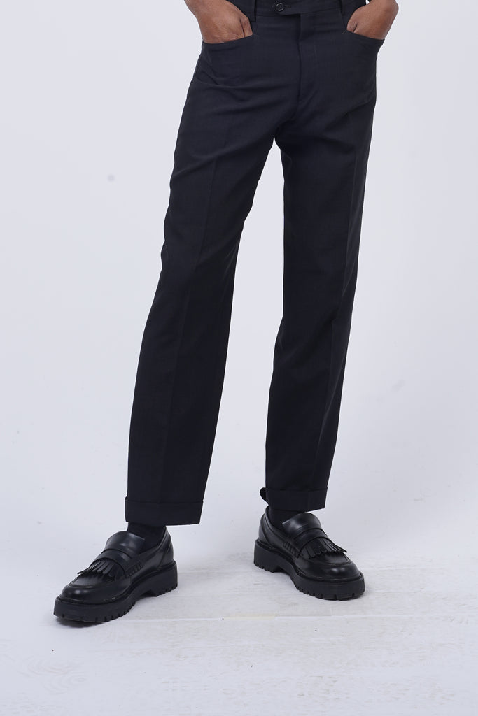 Vintage 90's Black Tailored Trousers